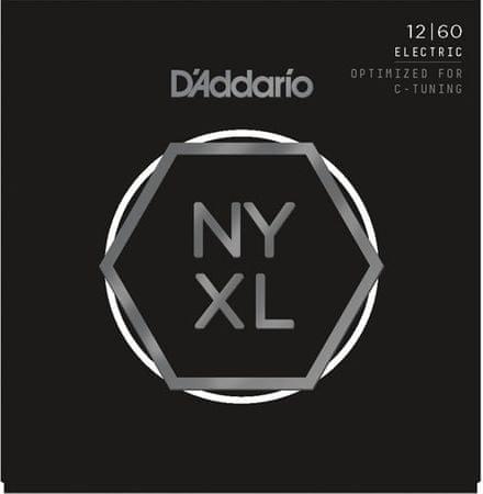 Daddario NYXL1260 Struny pro elektrickou kytaru
