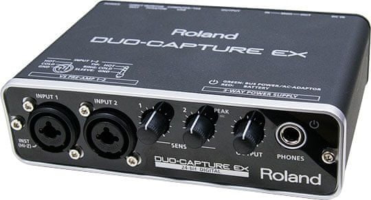 Roland UA-22 DUO-CAPTURE EX USB zvuková karta