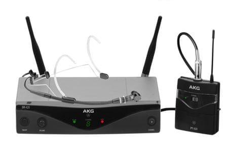 AKG WMS 420 Headset/U2 Bezdrátový hlavový set
