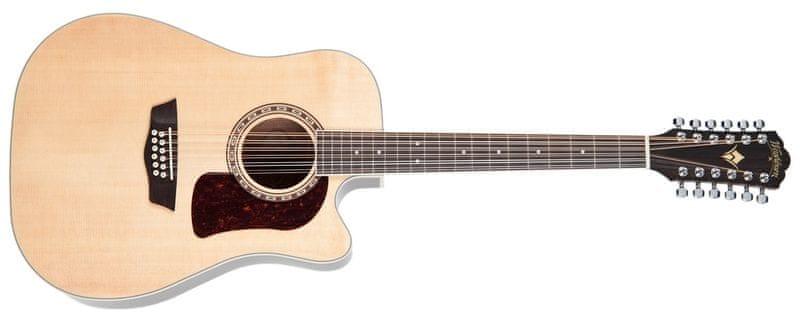 Washburn Heritage HD10SCE12 Dvanáctistrunná elektroakustická kytara