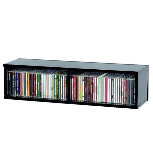 Glorious CD Box 90 BK DJ nábytek