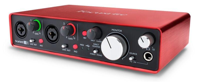 Focusrite Scarlett 2i4 2nd Gen USB zvuková karta