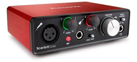 Focusrite Scarlett solo-2G USB zvuková karta