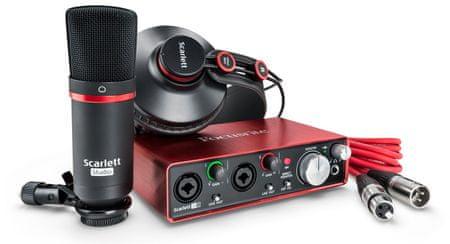 Focusrite Scarlett 2i2 Studio Pack 2nd Balíček pro domácí nahrávání