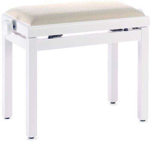 Stagg PB39 WHM VBE Klavírní stolička