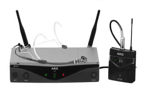 AKG WMS 420 Headset/U2 Bezdrôtová hlavová súprava