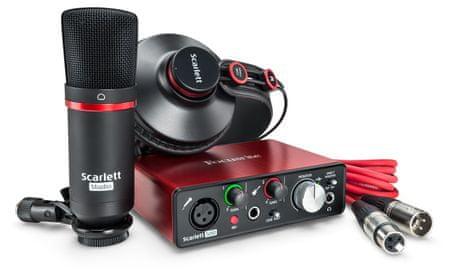 Focusrite Scarlett Solo Studio Pack-2G Balíček na domáce nahrávanie