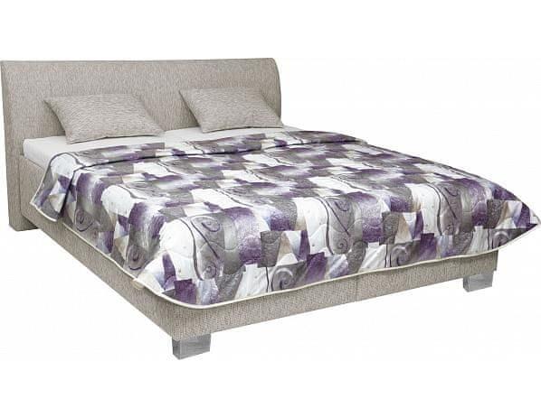 Čalouněná postel Pula, Beta 97, Karagan 1509