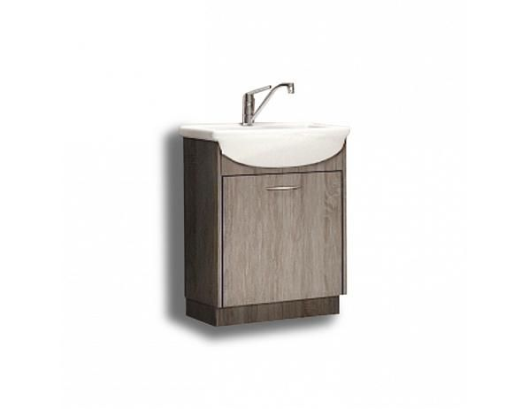 Skříňka pod umyvadlo, dub sonoma trufle, OLIVIA TR13