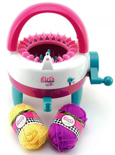 Teddies Girl's Creator pletací stroj