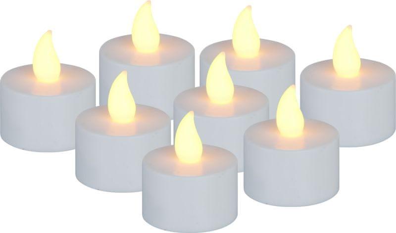 Metalac Čajové svíčky LED 8 ks