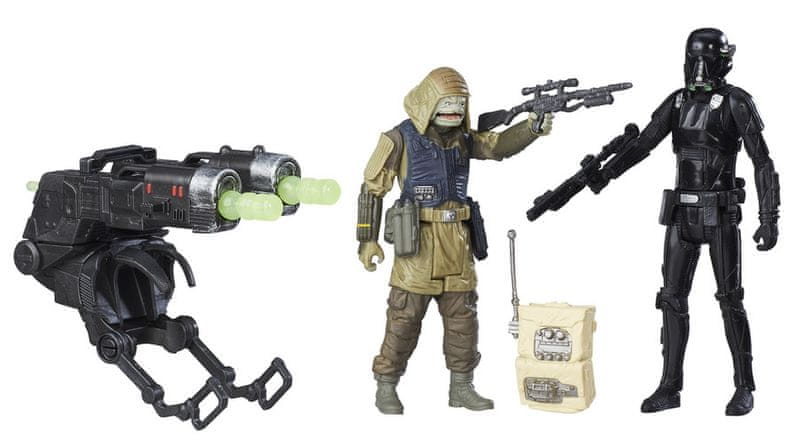 Star Wars R1 set figurek – Death trooper a Command Pao