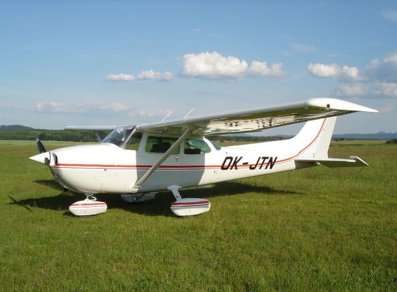 Poukaz Allegria - vyhlídkový výlet americkým letounem C172 Česká Lípa