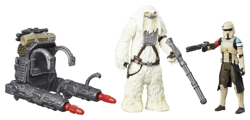 Star Wars R1 set figurek – Scarif strormtrooper a Moroff