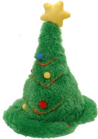 Metalac pojoči in plešoči božični klobuk