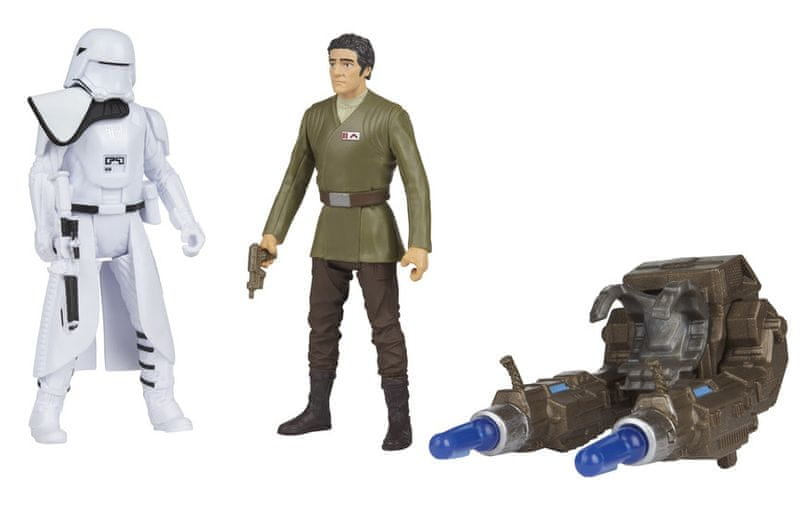 Star Wars E7 set figurek – 2ND HB officer a Blue SQ leader
