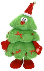 Metalac plešoče in pojoče božično drevo