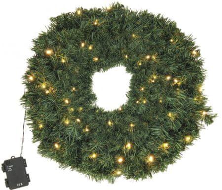 Metalac božični venec za vrata