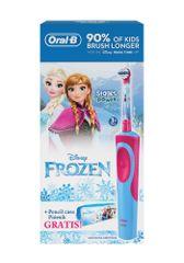 Oral-B Vitality Elektromos fogkefe + Tolltartó, Frozen