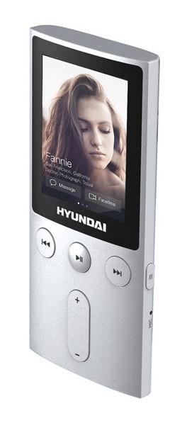 Hyundai MPC 501 FM, 8 GB, stříbrná