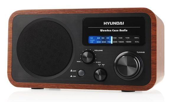 Hyundai PR 309 W, dřevo