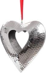 Decorium Závěsný svícen Srdce