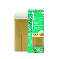 Geomar wosk do depilacji w rolce z algami i olejkiem jojoba - 100 ml