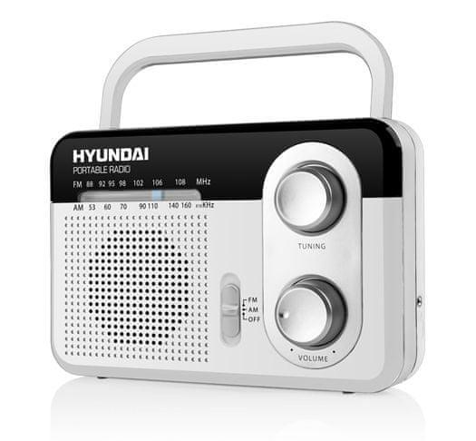 Hyundai PR 411 W, bílá