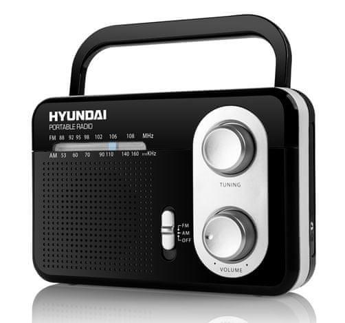 Hyundai PR 411 B, černá