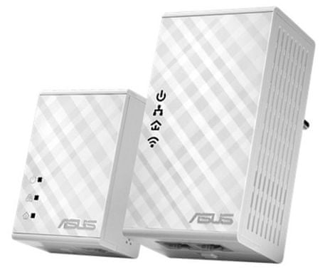 Asus WiFi Powerline Adapter PL-N12 KIT, 300Mbps, kit - odprta embalaža