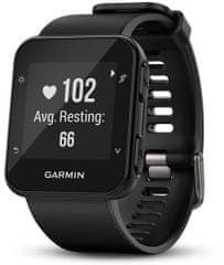 Garmin zegarek sportowy Forerunner 35, czarny