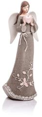 Decorium Anděl Roselo velký šedý