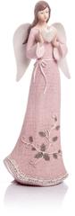 Decorium Anioł Rosel wielki różowy