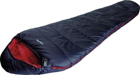 High Peak spalna vreča Redwood, temno modra/rdeča