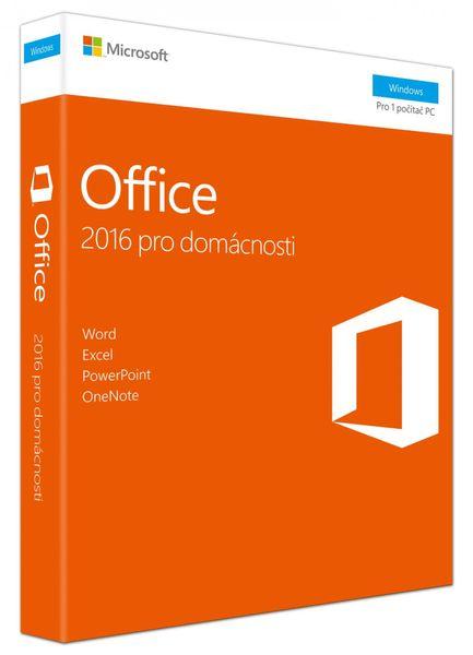 Microsoft Office 2016 pro domácnosti CZ (79G-04723)