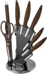 Berlingerhaus Sada nožov v stojane 8 ks nerez Forest Line