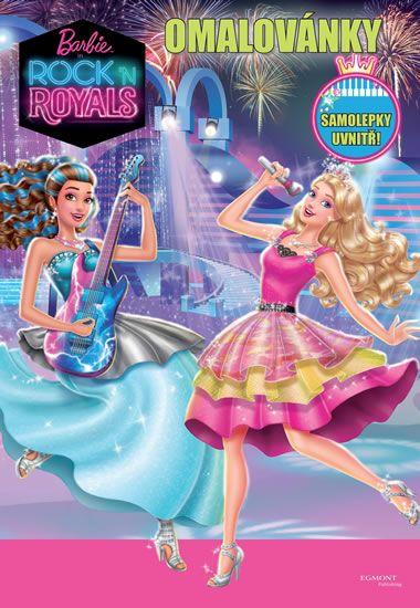 Mattel: Barbie RocknRoyals - Omalovánky