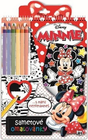Minnie - Sametové omalovánky