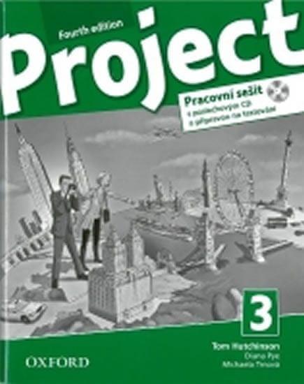 Hutchinson, T.; Hardy-Gould, J.; Trnová,: Project Fourth Edition 3 Pracovní sešit s poslechovým CD a