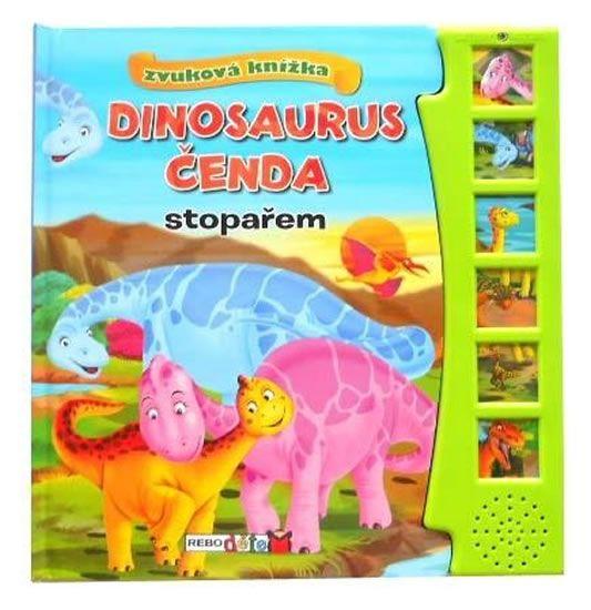 Dinosaurus Čenda stopařem - zvuková knížka