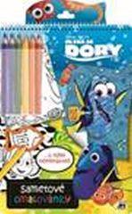 Hledá se Dory - Sametové omalovánky