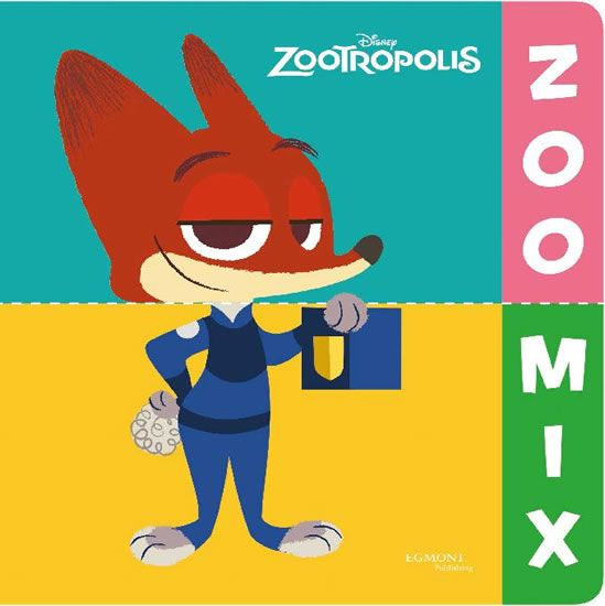 Disney Walt: Zootropolis ZOO MIX