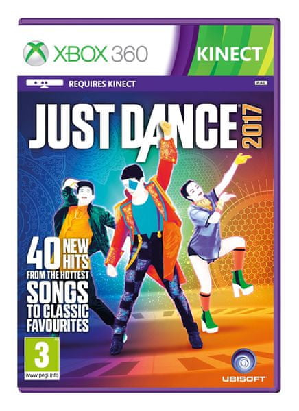 Ubisoft Just Dance 2017 / Xbox 360