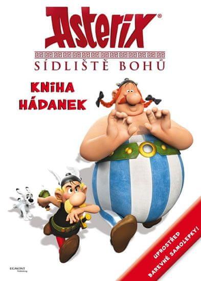 Goscinny R., Uderzo A.: Asterix Sídliště bohů - Kniha hádanek se samolepkami