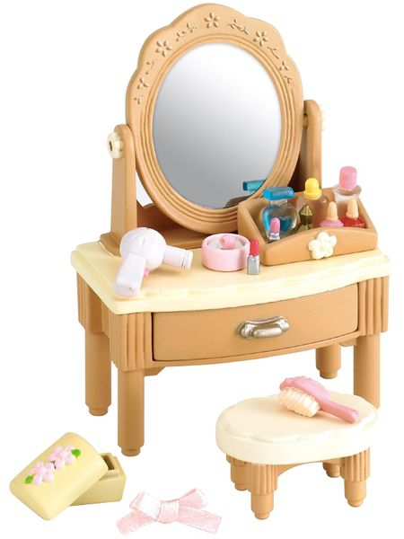 Sylvanian Families Nábytek zrcadlový stolek se židličkou