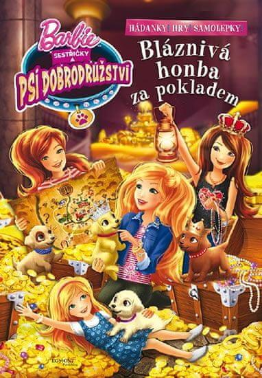 Mattel: Barbie Sestřičky a psí dobrodružství - Bláznivá cesta za pokladem - Zábavný sešit
