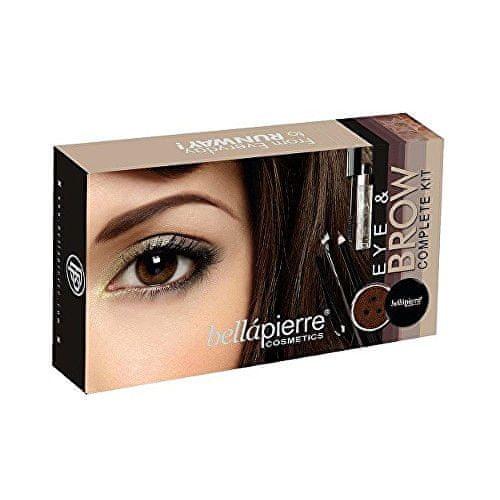 Bellapierre Kosmetická sada na oči a obočí (Eye & Brow Complete Kit) Ebony