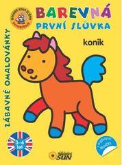 Koník - Barevná první slůvka s anglickými slovíčky