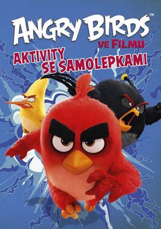 kolektiv autorů: Angry Birds ve filmu - Aktivity se samolepkami