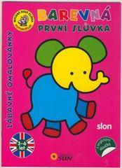 Slon - Barevná první slůvka s anglickými slovíčky